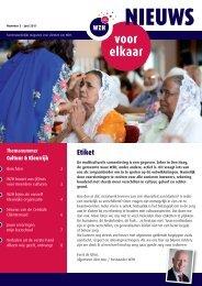 WZH Nieuws voor elkaar nr. 3 juni 2011.
