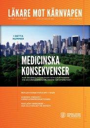 i kärnvapenproduktionen - Svenska Läkare mot Kärnvapen