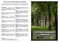 HISTORISK VANDRING I FINSPÅNG