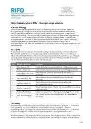 Program för nätverksträffen i riksdagen den 24-25 - Sveriges unga ...