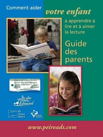 Comment aider votre enfant à apprendre à lire et à aimer la lecture ...