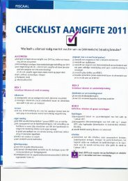 84 Financiële tips voor aangifte 2011 - Elmer