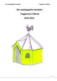 Læreplan 2012-2014 - Viborg Kommune