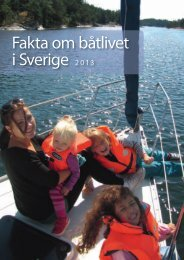 Fakta om båtlivet i Sverige 2013