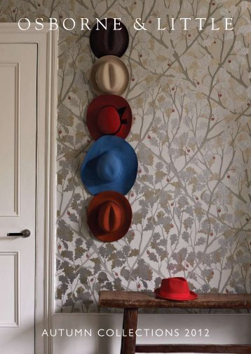 AUTUMN COLLECTIONS 2012 - Osborne and Little- Trade Home