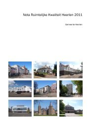 Nota Ruimtelijke Kwaliteit Heerlen 2011 - Gemeente Heerlen