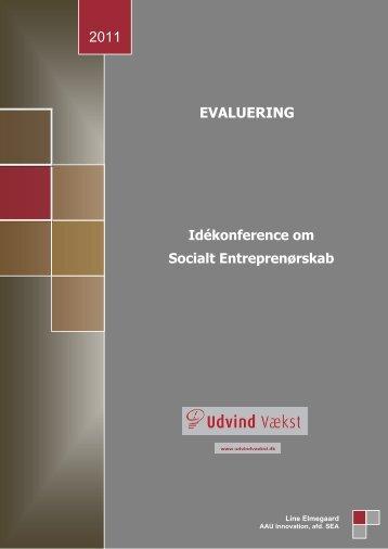 Idékonference om socialt entreprenørskab - Udvind Vækst