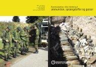 ammunition, sprængstoffer og gasser - BAR - service og ...