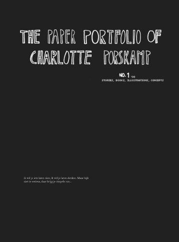 portfolio site - Charlotte Porskamp