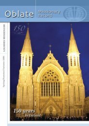 (Oblate Missionary Record) Spring/Summer/Autumn 2006