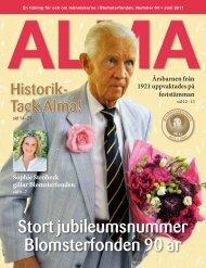 Alma - Blomsterfonden