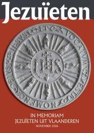 in memoriam jezuïeten uit vlaanderen - Jezuiëten in Nederland en ...