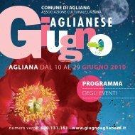 aGLiana DAL 10 AL 29 GiuGno 2010 - Giugno Aglianese