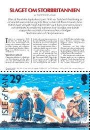 SLAGET OM STORBRITANNIEN SLAGET OM ... - Nordisk Filateli
