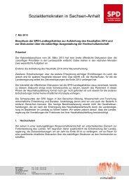 Download des Beschlusses (pdf) - SPD-Landtagsfraktion Sachsen ...