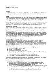AFWIJKING IN DE BORST - Med-Info