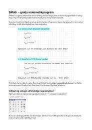 SMath – gratis matematikprogram