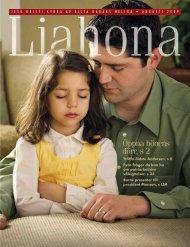 Augusti 2009 Liahona