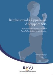 Årsrapport 2012 - Akademiska sjukhuset