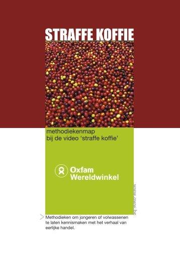 Straffe koffie map - Oxfam Wereldwinkels