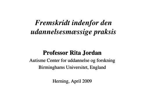 (Microsoft PowerPoint - Herning 2 - overs\346tt.foredr. Jordan ...