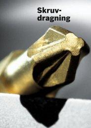 Skruv dragning - Bosch elverktyg