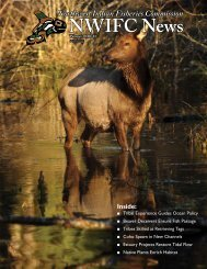Winter 2010 NWIFC Magazine - Northwest Indian Fisheries ...