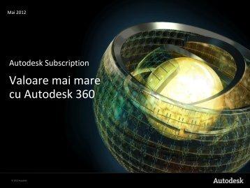 Autodesk Subscription - Valoare mai mare cu ... - Man and Machine