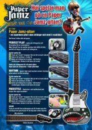 Hur spelar man på en Paper Jamz-gitarr? - MTV