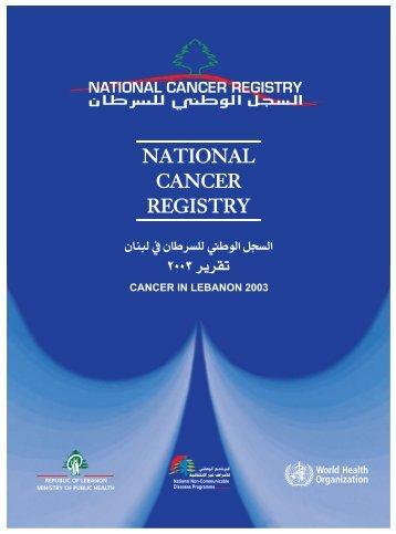 Report 2003 - Lebanese Cancer Society