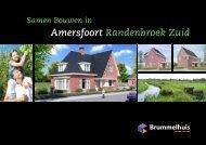 Brochure catalogushuizen vrije kavels - Randenbroek Zuid