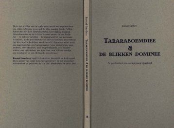 TARARABOEMDIEE A DE BLIKKEN DOMINEE