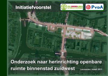 Onderzoek naar herinrichting openbare ruimte ... - PAL GroenLinks