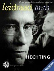 HECHTING - Leids Universiteits Fonds