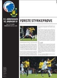 Første styrKeprøve - FC København