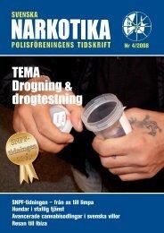 SNPF-tidningen - Svenska Narkotikapolisföreningen