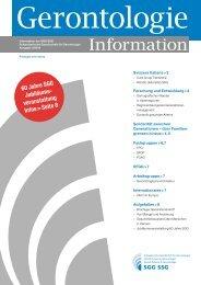 Gerontologie Information 2012-3 (PDF) - SGG-SSG