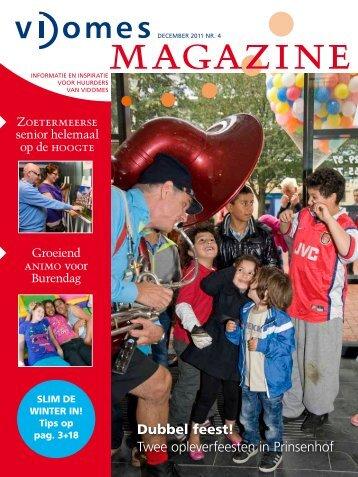Dubbel feest! Twee opleverfeesten in Prinsenhof - Vidomes