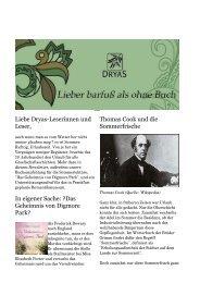 Webmail :: Posteingang: Dryas.Juni 2013 - Dryas Verlag