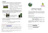 Dowload de wandeling - Maison du Tourisme du Pays d'Arlon