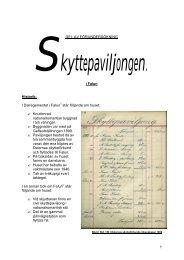 1 DEL AV FÖRUNDERSÖKNING i Falun Historik ... - Skyttepaviljongen