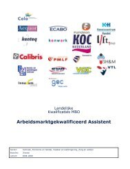 Arbeidsmarktgekwalificeerd Assistent - Kenwerk