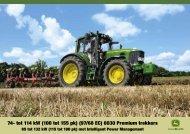 6030 Premium trekkers - John Deere