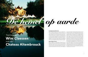 Niveau Magazine - Kasteel Altembrouck