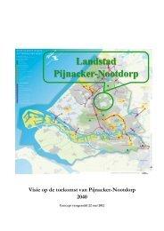 Concept voorstel Toekomstvisie - D66 Pijnacker-Nootdorp