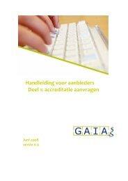 Handleiding aanbieder geolocatie - Nederlandse Vereniging voor ...