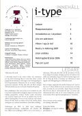 I-type Nolleedition 2008 - Sektionen för Industriell ekonomi vid ... - Page 3