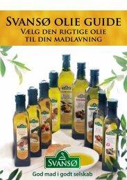 Se det nye opskriftshæfte med Svansø Olier - Scandic Food
