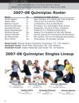 NCAA Tourament Media Guide - May 8, 2008 - Quinnipiac University - Page 4