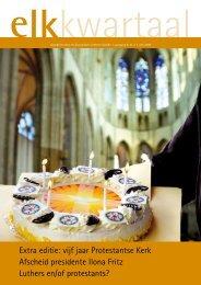 Extra editie: vijf jaar Protestantse Kerk Afscheid presidente Ilona ...